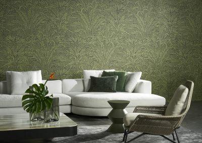 behang groen 2